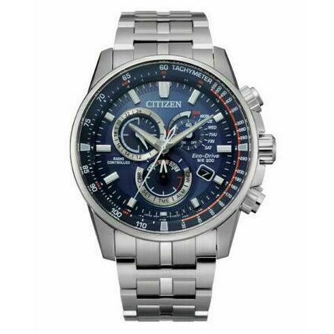 CITIZEN ECO-DRIVE CB5880-54L PCAT RADIO CONTROLLED CHRONO STAINLESS STEEL