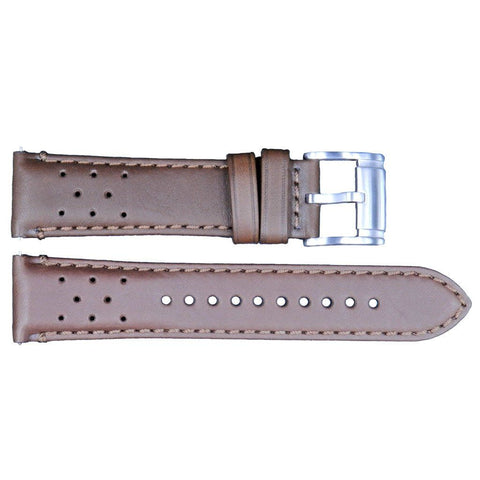 Genuine Fossil Wakefield Series Brown Leather 22mm Watch Strap