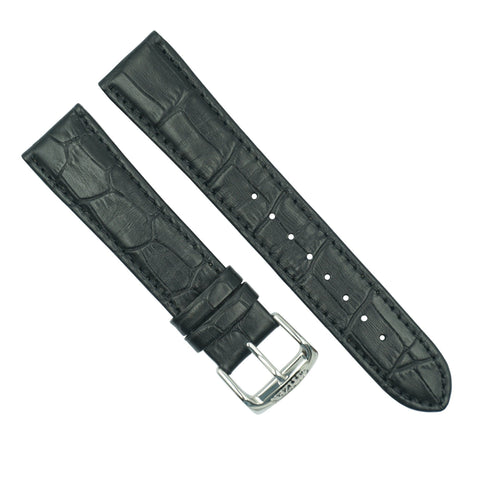 Citizen 20mm Black Leather Watch Strap