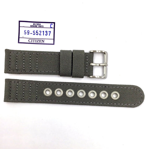 Citizen 59-S52137 Khaki Textile Watch Strap