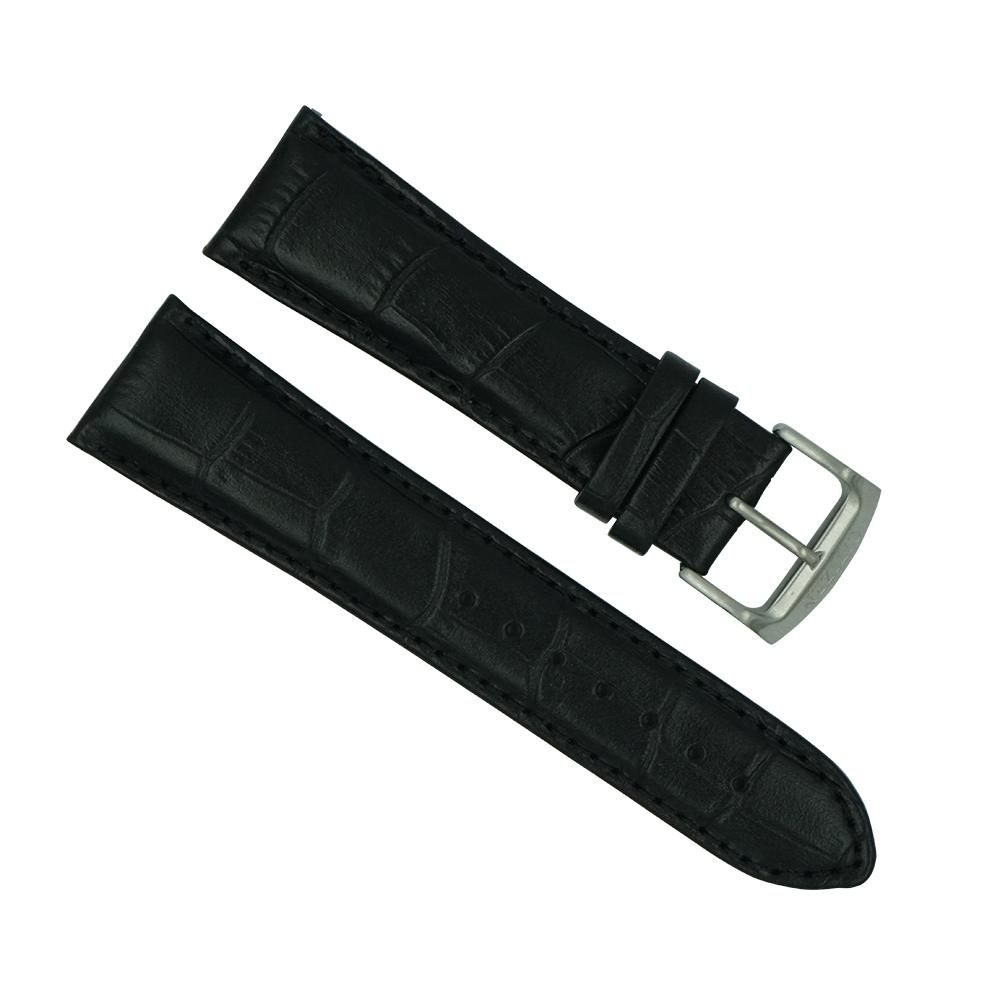 Citizen 23mm Black Leather Strap