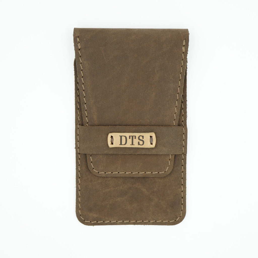 Soft Brown Leather Watch Pouch
