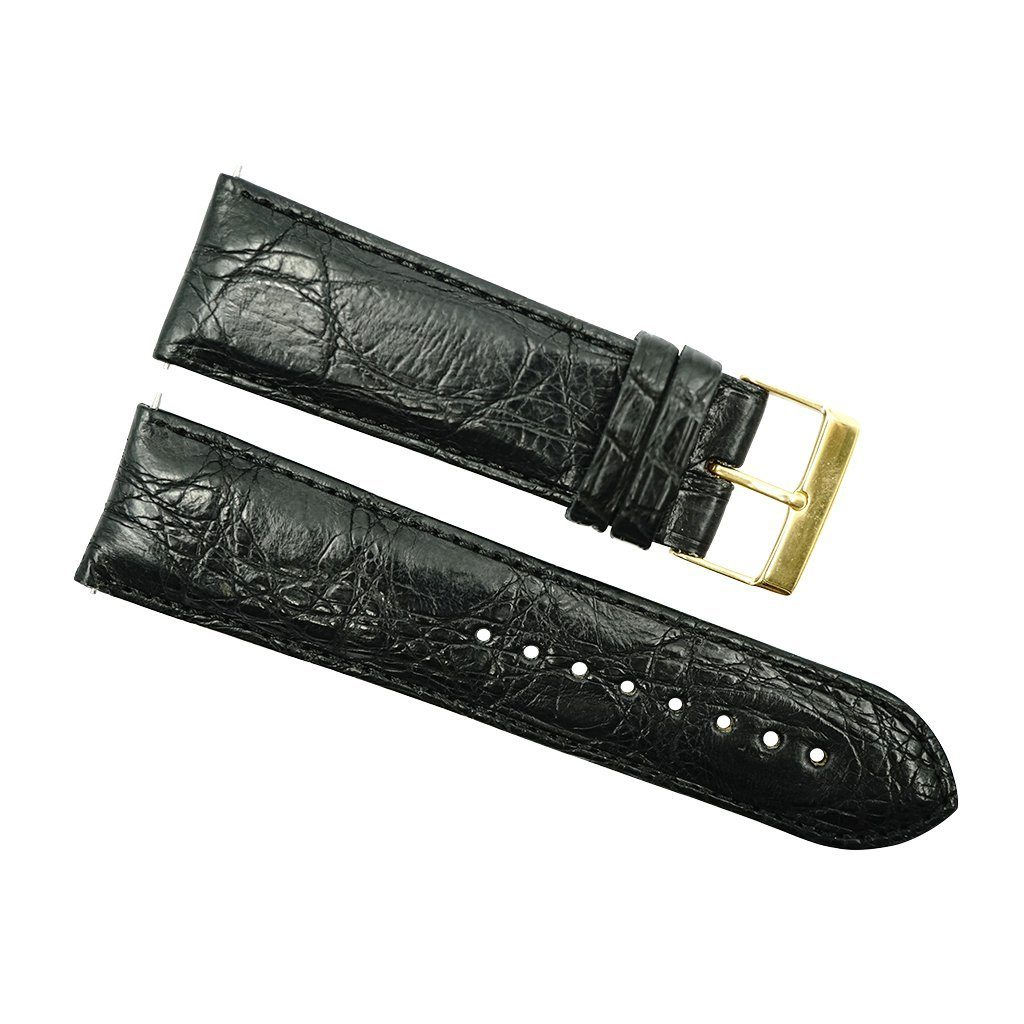 24mm genuine crocodile strap