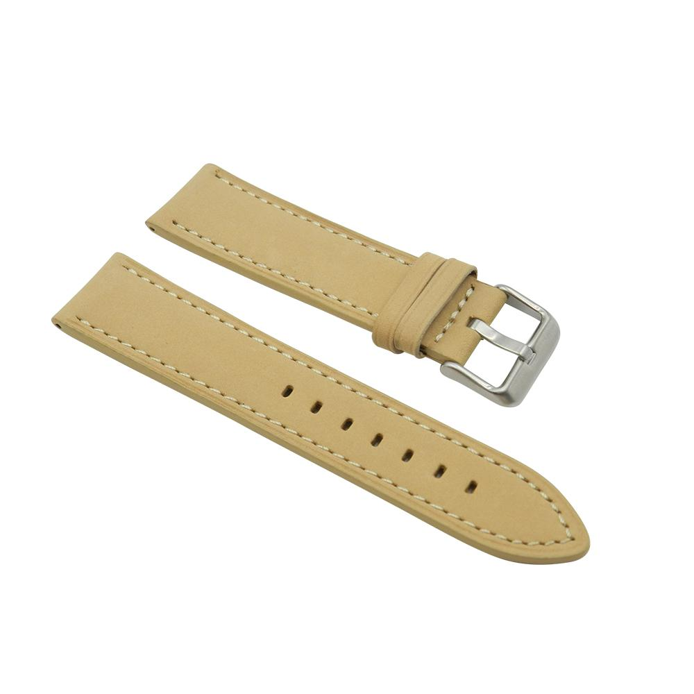 Dakota Beige Soft Leather Strap