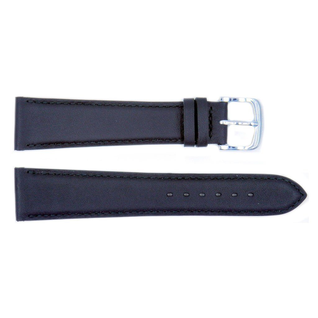 Euro Collection Handmade Genuine Smooth Leather Watch Strap