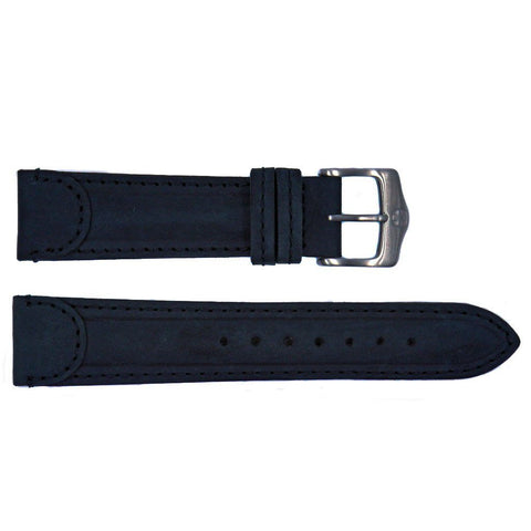 Euro Collection Genuine Leather Wenger Style Watch Strap