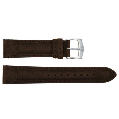 Euro Collection Genuine Leather Wenger Style Long Watch Strap