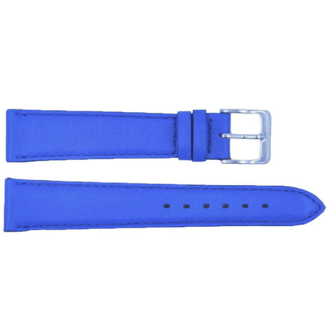 Euro Collection Handmade Genuine Smooth Leather Short Watch Strap