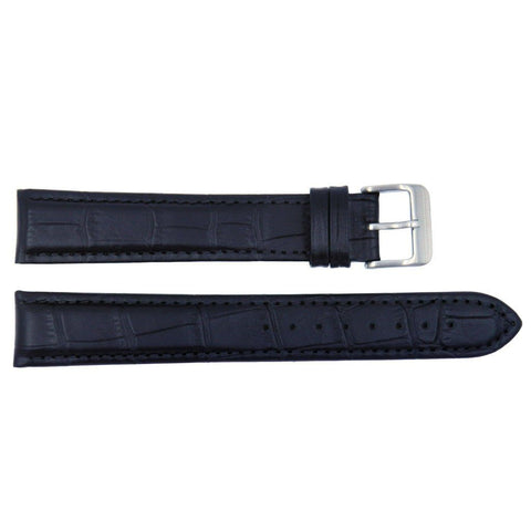 Euro Collection Alligator Grain Extra Long Leather Watch Band