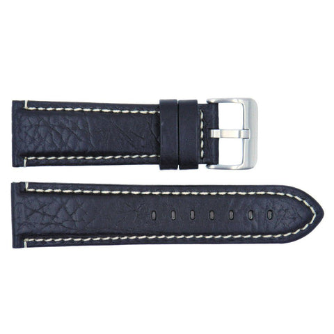 Euro Collection Textured Italian Calf Leather Watch Band