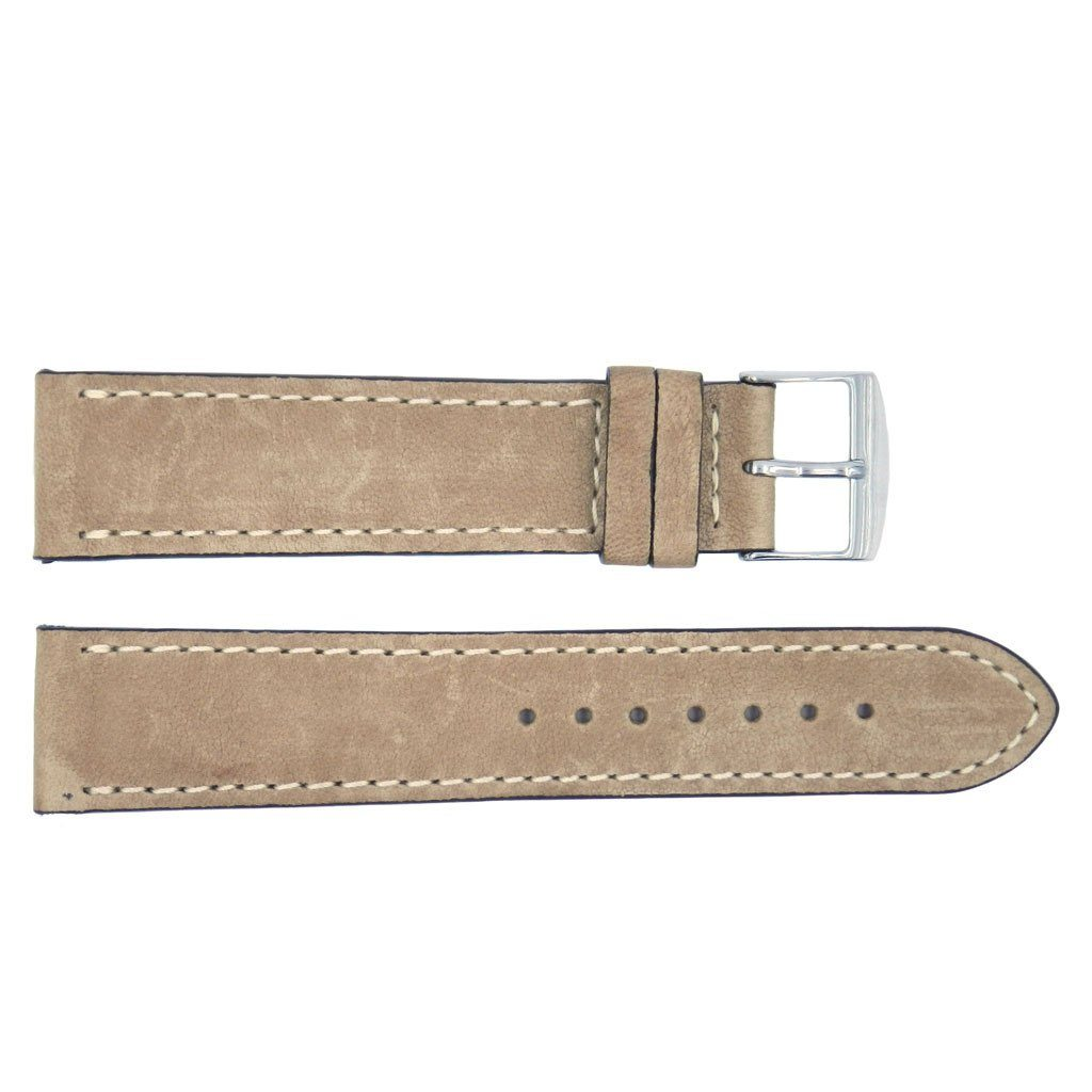 Euro Collection Rustic Leather Watch Band