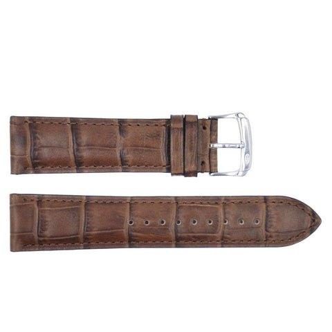 Euro Collection Rhein Fils Switzerland Alligator Grain Leather Watch Strap
