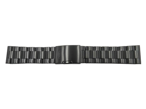 Fossil 24mm Black Stainless Steel Watch Bracelet