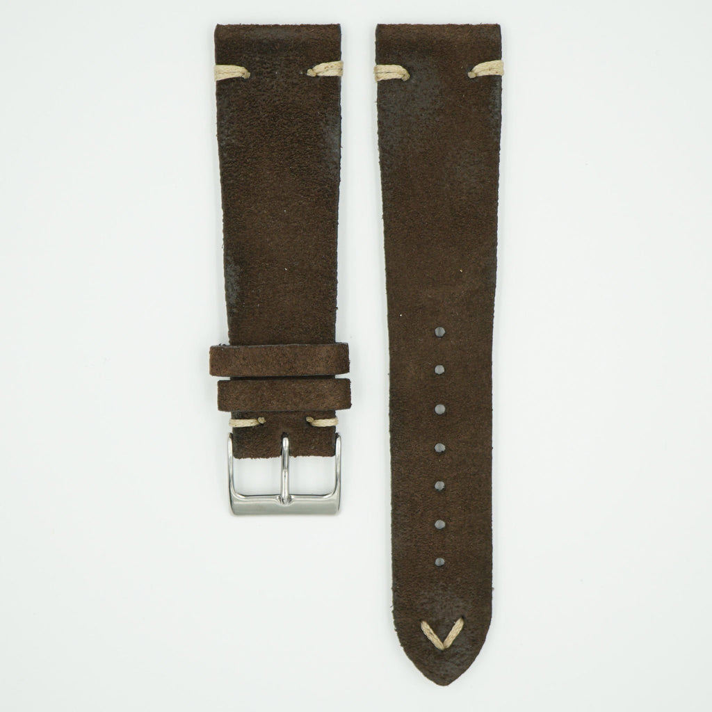 Rustic Vintage Brown Leather Strap