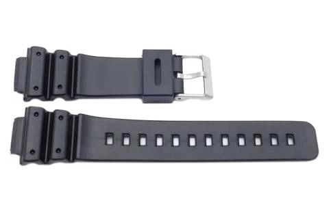 Casio Style Replacement 16mm Black Watch Strap GS-16 image