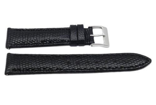 Genuine Lizard Gloss Finish Watch Band - Assorted Colors
