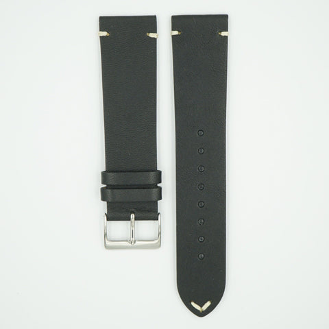 Dakota Horween Vintage Black Leather Strap