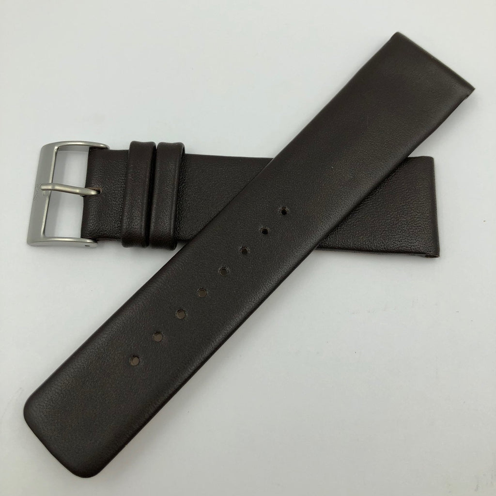 SKAGEN 958XLSL BROWN 22MM LEATHER WATCH STRAP