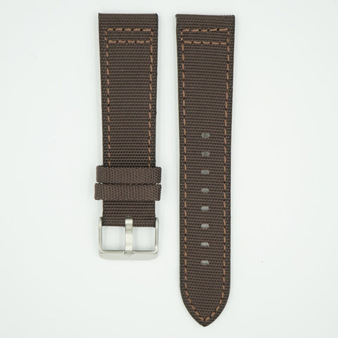 Canvas Watch Strap Brown