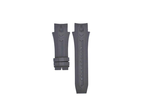 26mm Compatible Invicta Excursion Black Rubber Watch Strap for Models 12691, 12690, 12692, 12688