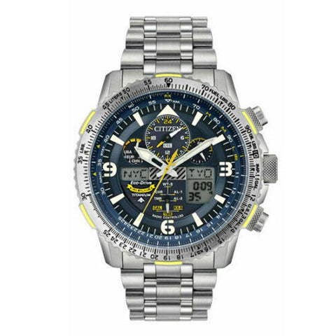 Citizen Eco-Drive JY8101-52L Blue Angels Skyhawk AT Titanium 45mm Watch
