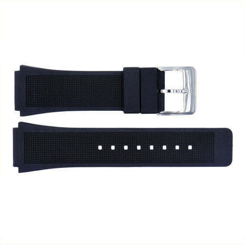 Genuine Kenneth Cole 28/22mm Black Polyurethane Watch Band