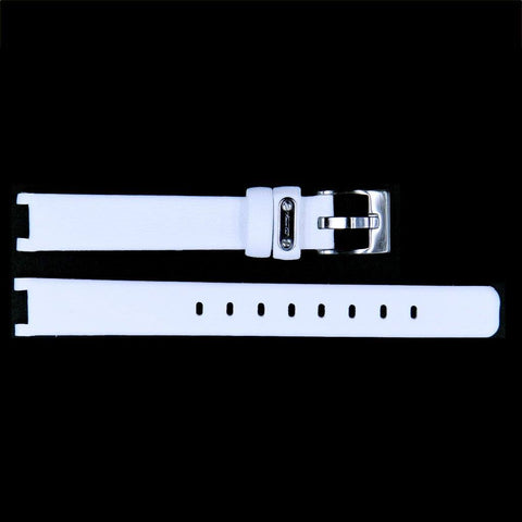 Kenneth Cole Ladies White Genuine Leather 14mm Watch Band