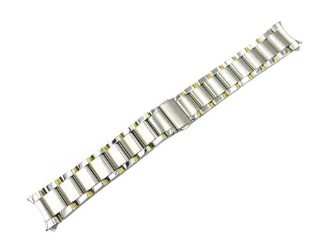 Genuine Kenneth Cole Dual Tone Stainless Steel 20mm Watch Bracelet