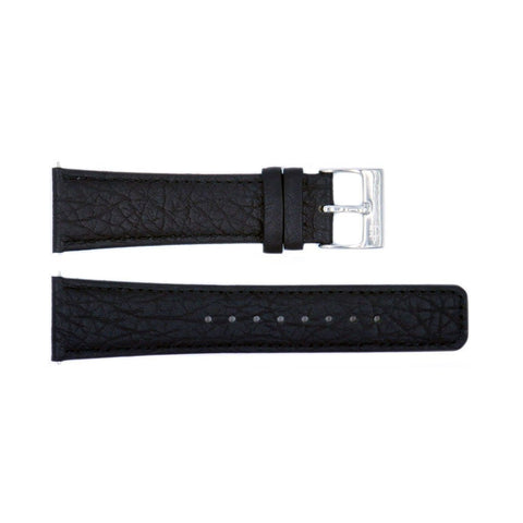 Genuine Kenneth Cole Black Textured Leather 24mm Watch Band