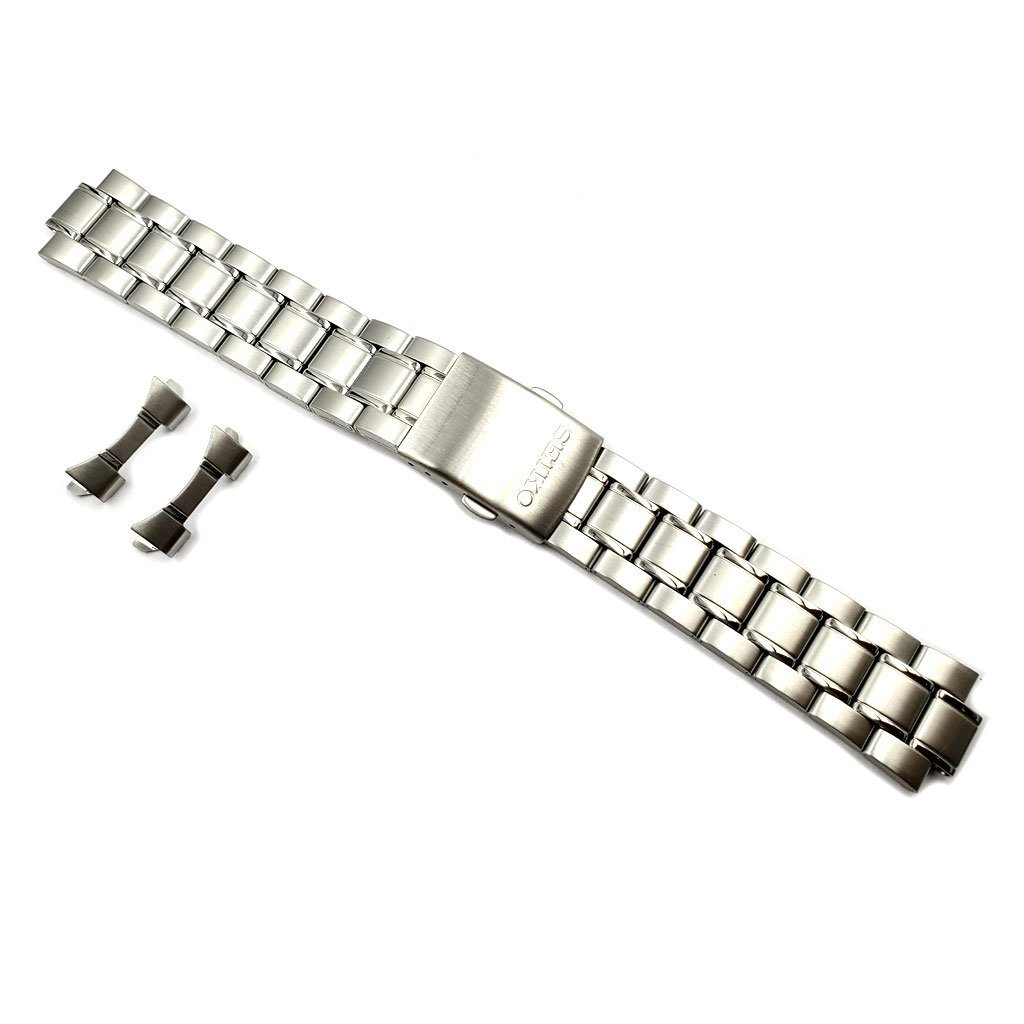 Genuine Seiko 20mm Stainless Steel Watch Bracelet