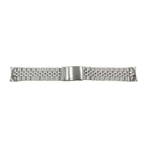 Fossil 22mm Curved End Stainless Steel Bracelet Strap