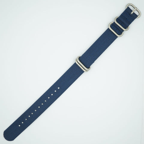 Navy Blue Heavy NATO Watch Strap