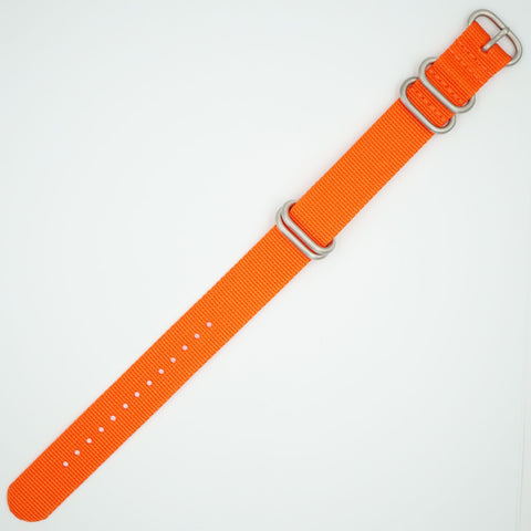 Orange Heavy NATO Watch Strap