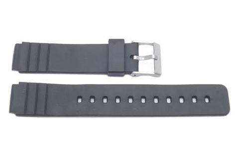 Casio Style Replacement 16mm Black Watch Band P3011 image