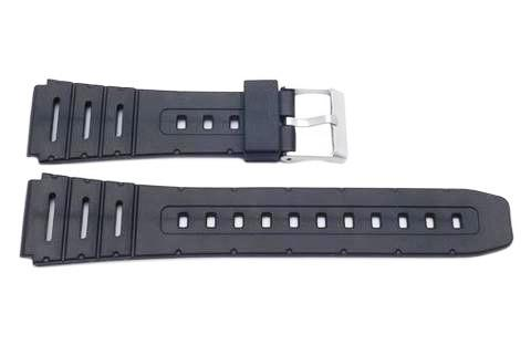 Casio Style Replacement 20mm Black Watch Band P3031