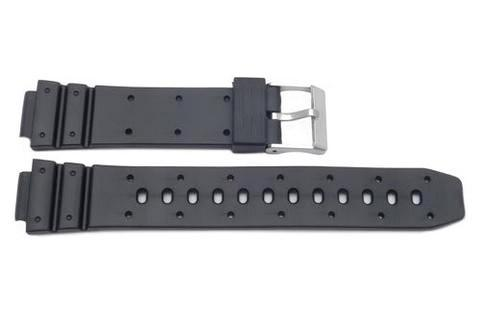 Casio Style Replacement 14mm Black Watch Strap - P3036