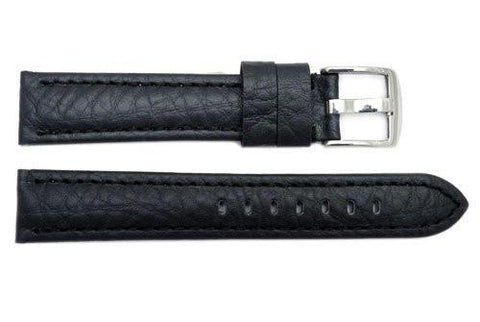 Genuine Textured Leather Panerai Style Extra Long Watch Strap