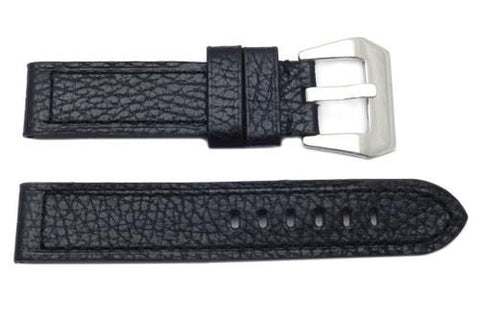 Genuine Textured Leather Heavy Padding Panerai Watch Strap