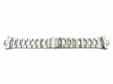 Genuine Pulsar Stainless Steel Push Button Clasp 25mm/8mm Watch Bracelet