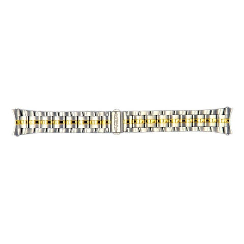 Genuine Pulsar Dual Tone 20mm/10mm Watch Bracelet