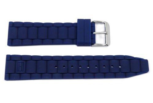 Genuine Silicone Link Style 22mm Watch Band image