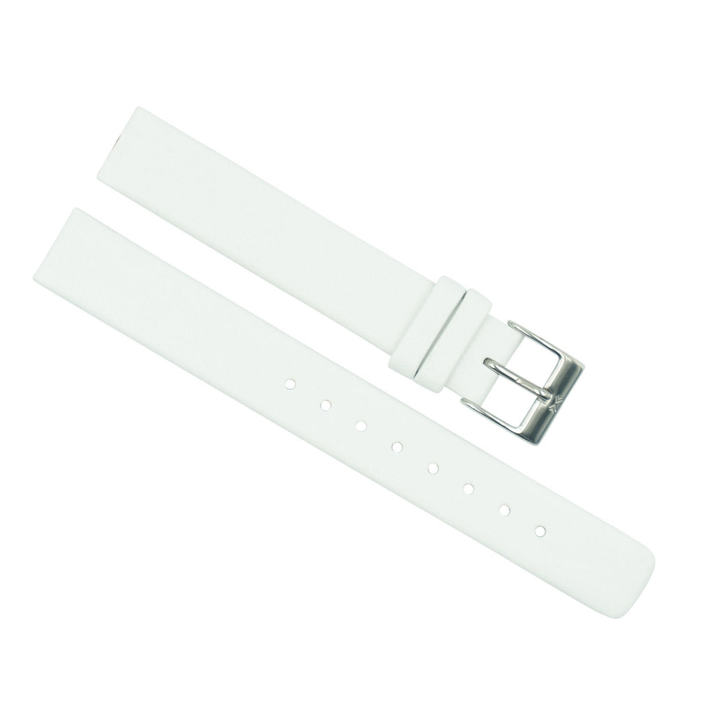 694d24d03 Skagen Ladies 14mm White Leather Watch Band – Total Watch Repair