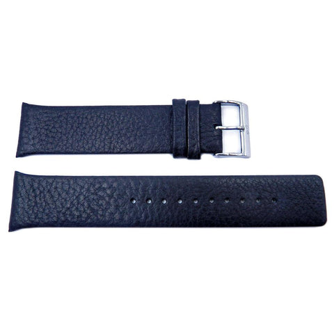 Genuine Skagen Smooth Black Leather 23mm Watch Strap