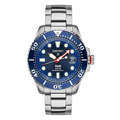 Seiko Padi Solar Special Edition Prospex Divers 200M Men's Watch SNE435