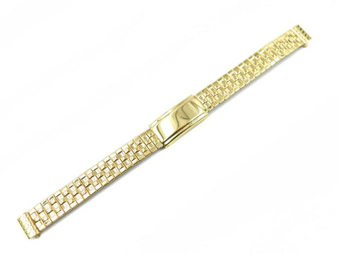 Genuine Seiko Ladies Gold Tone 10mm Expansion Watch Band