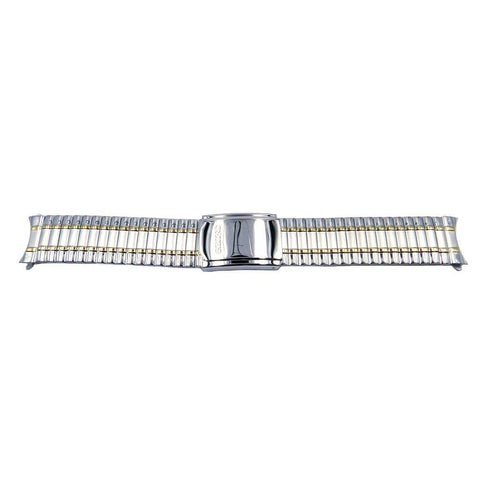 Genuine Seiko Dual Tone Fold Over Clasp 20mm Expansion Watch Bracelet