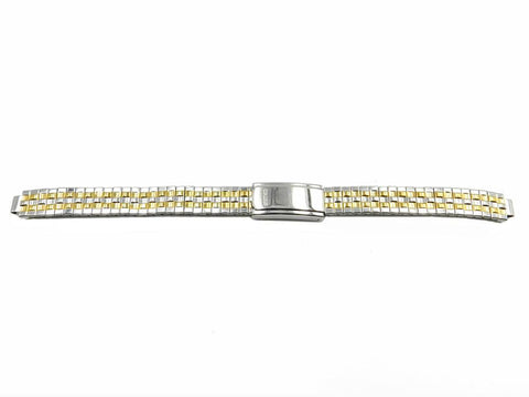 Genuine Seiko Ladies Dual Tone 10mm Expansion Watch Bracelet