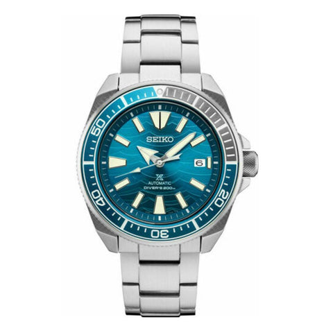 Seiko Automatic Prospex Samurai Blue Wave Divers 200M Men's Watch SRPD23