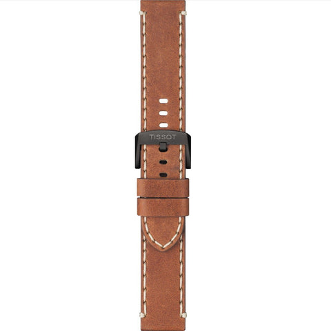 TISSOT CHRONO XL TAN 22MM LEATHER STRAP