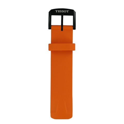 TISSOT T-RACE TOUCH ORANGE RUBBER BAND